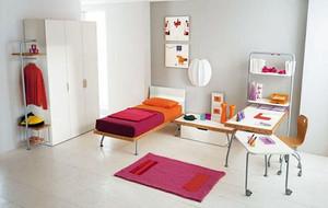 可爱创意时尚大户型儿童房装修效果图赏析