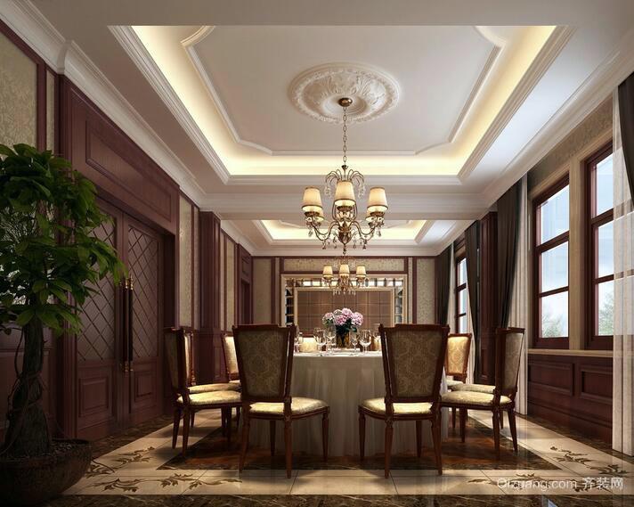2016三居室餐厅室内设计装修效果图鉴赏