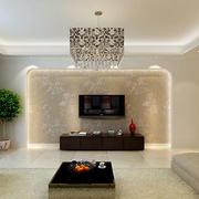 现代简约客厅电视背景墙