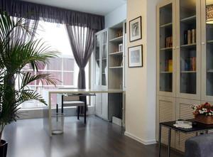 90平米精致书房设计装修效果图欣赏