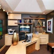 100平米精美的现代书房室内装修效果图鉴赏