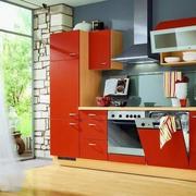 100平米现代欧式风格厨房橱柜装修效果图