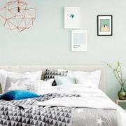 自然舒适卧室效果图