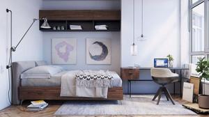 北欧风格自然轻快卧室装修效果图赏析