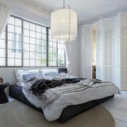自然轻快时尚北欧风格卧室吊灯装修效果图