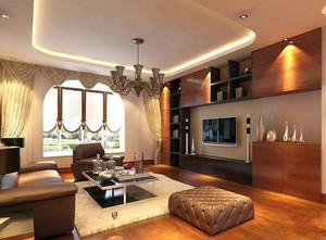 小户型精致的都市客厅室内装修设计效果图