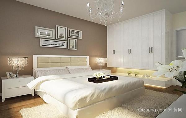 欧式小户型卧室背景墙装修效果图鉴赏