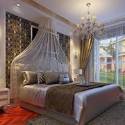 现代室内床铺设计