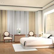 现代简约中式风格卧室装修效果图赏析