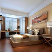 现代简约中式风格卧室