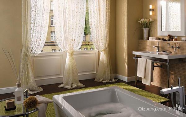 2016欧式别墅卫生间室内设计装修效果图欣赏