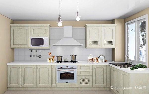120平米简约欧式风格小厨房装修效果图