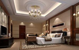 简欧风格卧室吊灯设计