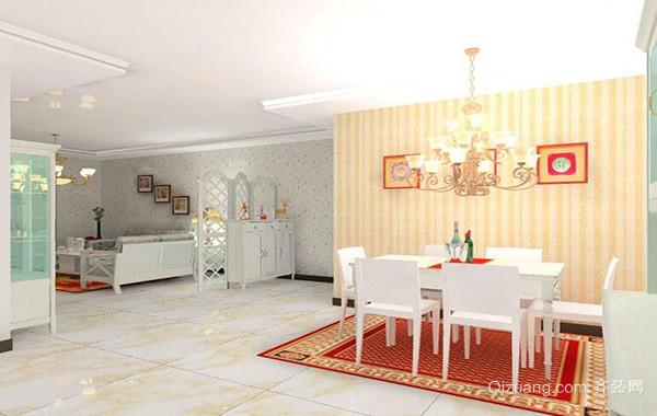精致大户型欧式风格餐厅设计装修效果图鉴赏