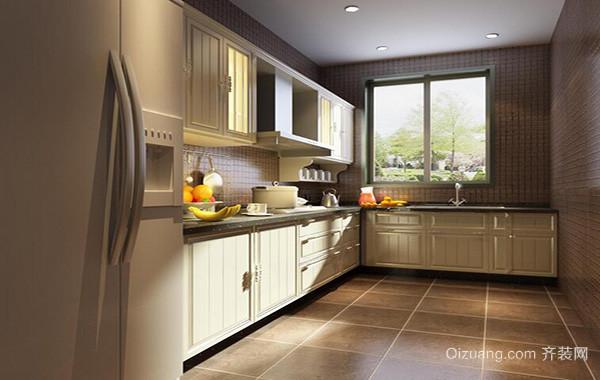 完美的大户型厨房吊顶装修效果图鉴赏