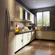 100平米大户型欧式厨房设计装修效果图鉴赏