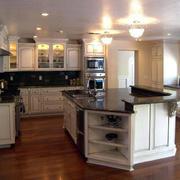 大户型厨房室内设计装修效果图鉴赏