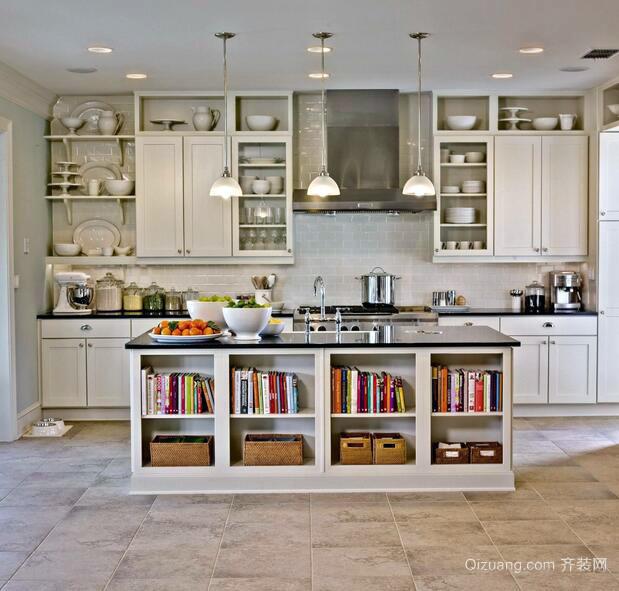 小户型精致的厨房室内设计装修效果图鉴赏