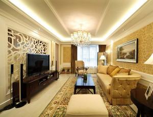 精美的大户型客厅设计装修效果图鉴赏