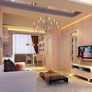 2016小户型欧式客厅室内设计装修效果图