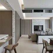 后现代风格客厅效果