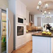 2016别墅型欧式厨房室内设计装修效果图