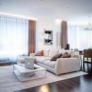 温馨舒适客厅装修