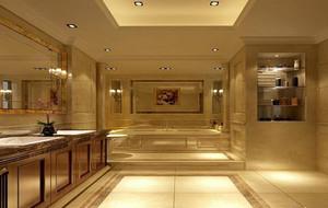 2016别墅欧式风格卫生间室内设计装修效果图