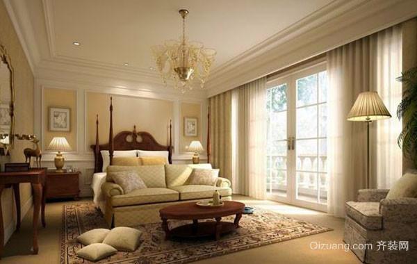 欧式风格精致卧室装修效果图大全