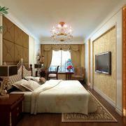 欧式风格精致卧室吊灯效果图