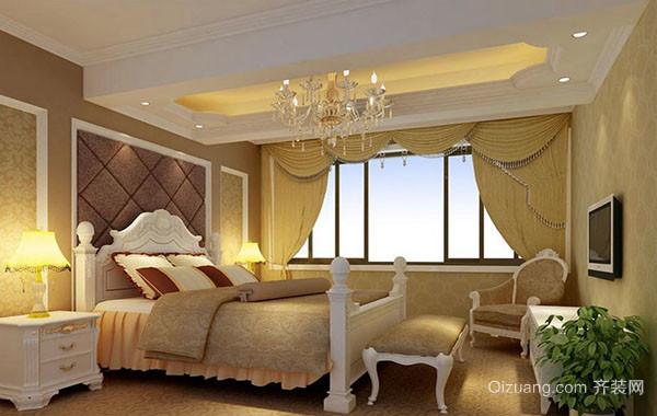 2016年全新款大户型精致卧室装修效果图赏析