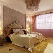 欧式风格精致卧室效果图