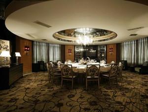 欧式风格三居室餐厅设计装修效果图鉴赏