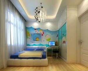 现代简约时尚创意儿童房装修效果图大全