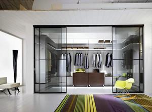 现代简约风格室内衣帽间设计装修效果图