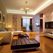 80平米精致的现代客厅装修效果图