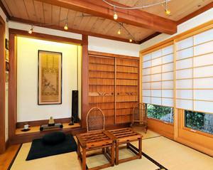 现代精致的别墅型榻榻米设计装修效果图