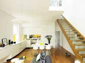 2016别墅型欧式室内楼梯设计装修效果图