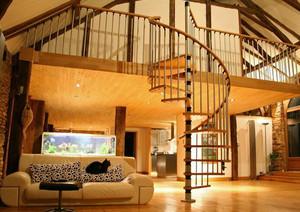 小户型欧式室内楼梯装修效果图鉴赏