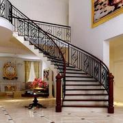2016别墅型室内楼梯设计装修效果图