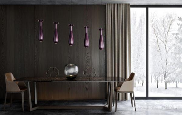 后现代风格创意时尚餐厅吊顶装修效果图