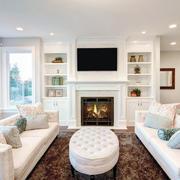北欧风格精致朴素简约客厅装修效果图