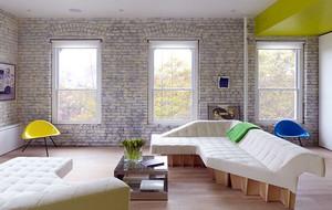 60平米小户型现代简约风格公寓装修效果图