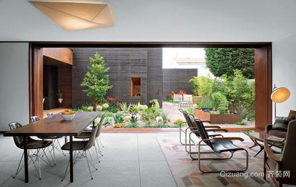 后现代风格创意时尚简约餐厅装修效果图大全
