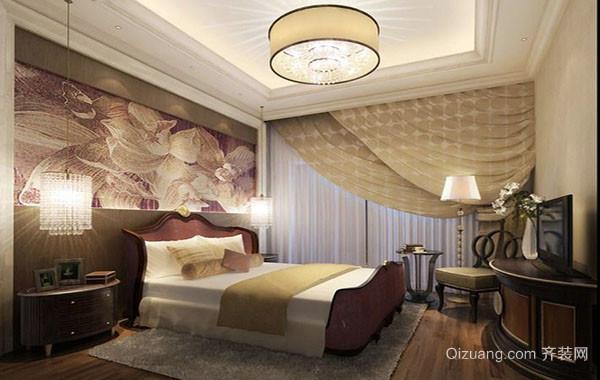 2016年新款简欧风格精致典雅室内卧室装修效果图