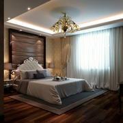 卧室精美吊灯装修