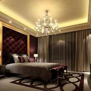 欧式精致卧室吊灯设计