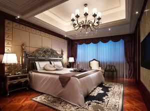 欧式精致典雅时尚室内卧室吊顶装修效果图大全
