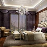 时尚创意卧室效果图