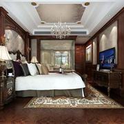 精致古典卧室效果图